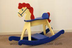 36 Rocking Horse Plans Planspincom