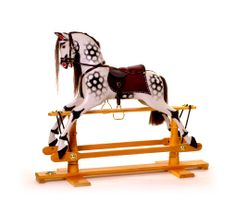 A Traditional Rocking Horse