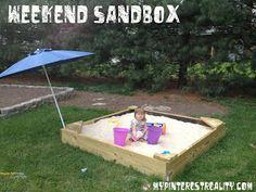 Weekend Sandbox tutorial