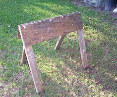 Folding sawhorse tutorial