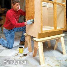 Build Small Sawhorses