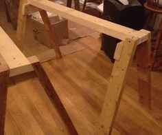 Quick-Build Sawhorse tutorial