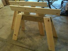 Folding Sawhorse Extensions tutorial