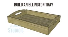 Frontgate inspired Ellington trays