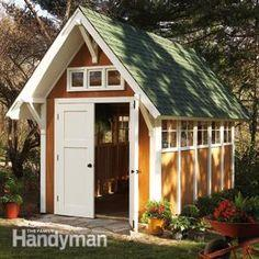 Garden Shed Illustrations and Materials List