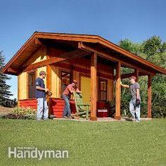 Build a Shed With a Front Porch
