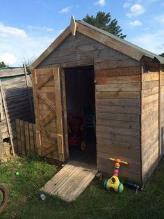 The Pallet Playhouse or Shed