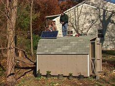 Create a Solar Powered Shed