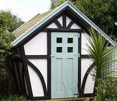 a Tudor style garden shed Plans