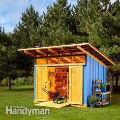 Perfectly Practical Shed
