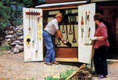 Homemade Garden Toolshed