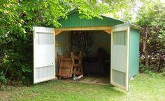 Backyard shed step-by-step