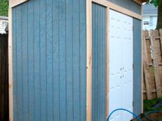 Build a Storage Shed for Tools