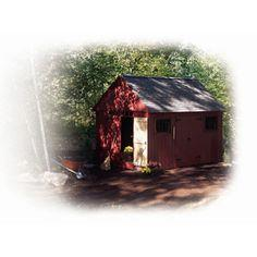 Colonial Storage Shed Plans