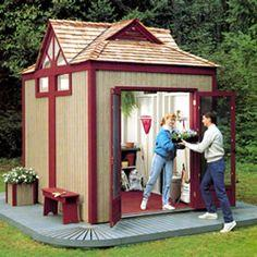 Gabled Garden Shed