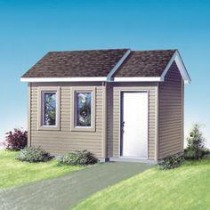 Build a shed from a plan.