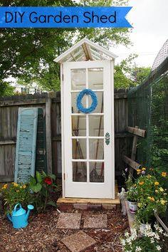 Made from old windows and doors