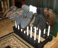 How To Make A Boot Rack or Shoe Rack