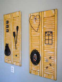 Makeover: Distressed Shutters