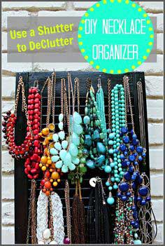 DeClutter with an Utterly Cute Jewelry Shutter