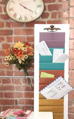 Window Shutter Mail Sorter tutorial