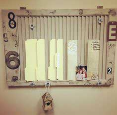 Upcycled Window Shutter Wall Organizer Tutorial