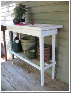 shutter potting bench tutorial
