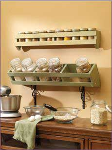 Canister and Spice Rack