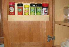 Wall Spice Rack Plans