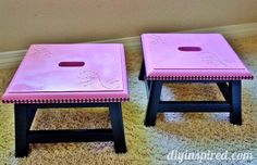 Upcycled Step Stool Tutorial