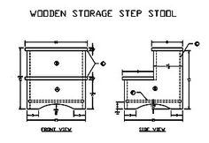 60 Step Stool Plans To Build At Planspin Com