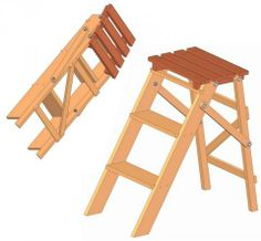 50 Step Stool Plans To Build At Planspin Com