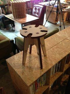 Stool from MDF