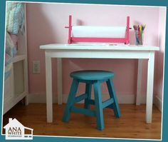 Play table stools