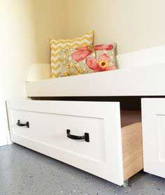 Under Bench Trundle Drawers