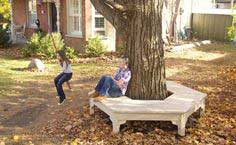 Build a Hexagonal Tree Bench