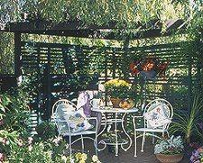 100 Free Trellis Plans at PlansPincom to Build