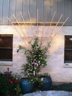 90 Free Trellis Plans at PlansPin.com to Build