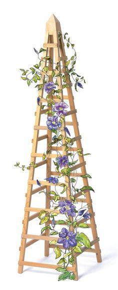 90 Free Trellis Plans At Planspin Com To Build