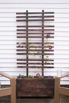 how to build raise planter alone fence