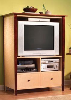 High Style, Low-Cost TV Cabinet