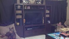 Entertainment Center From Scratch