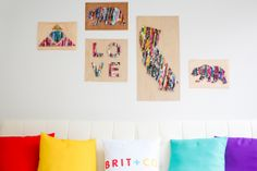 Upcycle Old Magazines Into Wall Art