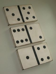 Vintage Looking Dominoes