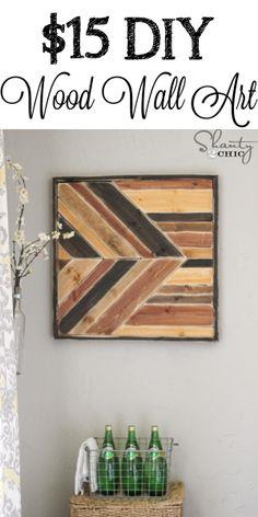 Wall Art ~ Pallet Design
