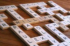 Grandma's Scrabble Wall Art