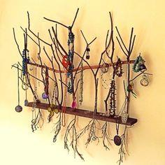 Necklace Tree Wall Art