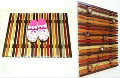 Easy Wooden Slat Mat