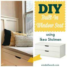 WINDOW SEAT MADE FROM IKEA