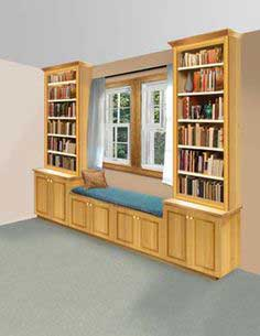 Book Nook and Window Seat